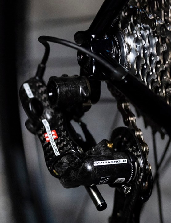 A decidedly high-end groupset
