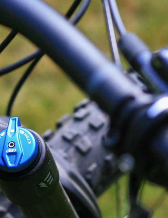 Fox's GRIP damper is simple yet effective