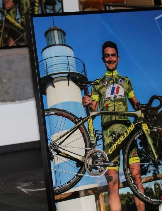 Armée de Terre ride Cipollini bikes for 2016, and Thomas Rostollan (pictured) is a new recruit