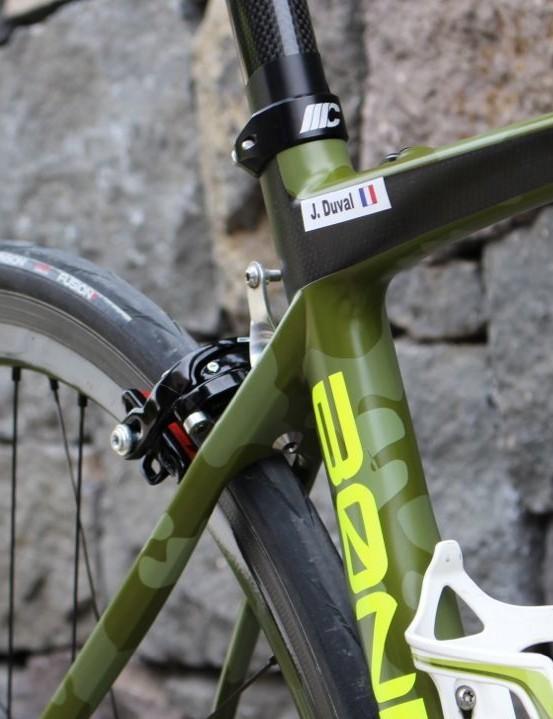 We loved the camo paint job on Armée de Terre's bikes