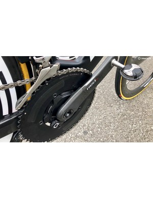 No, of course this isn't a Rotor chainring. Why do you ask?