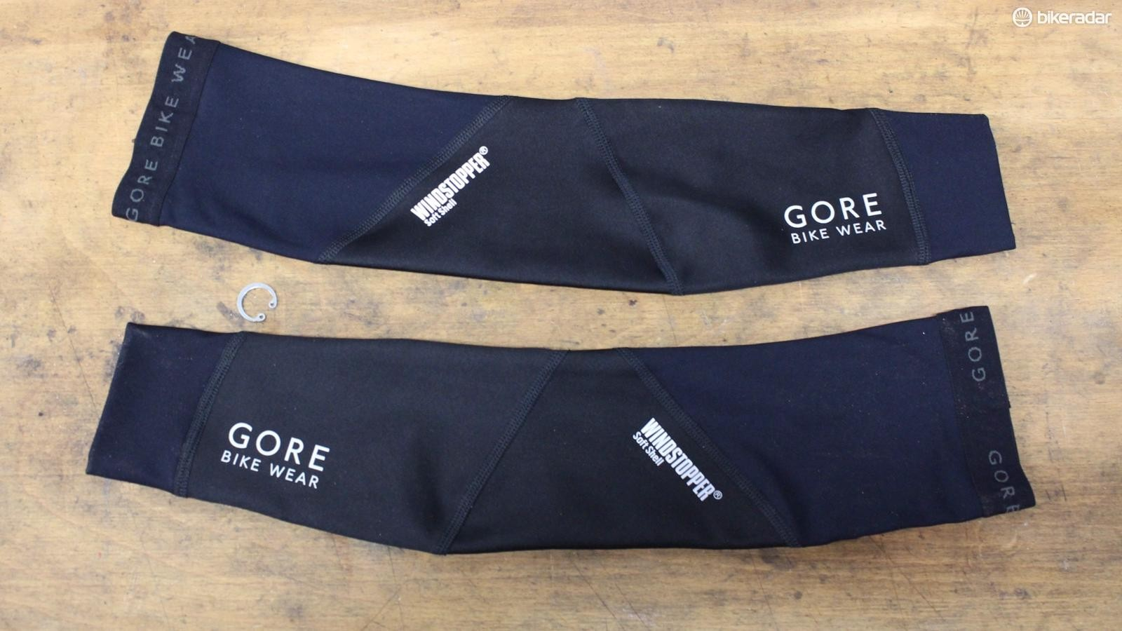 The Gore Windstopper Arm Warmers are similarly well-thought-out