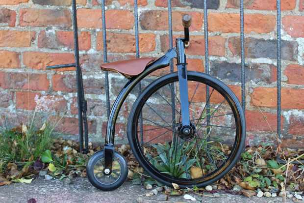 Richards of England creates authentic replica penny-farthing balance bikes