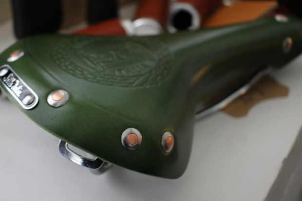The new Sella Italia leather saddle