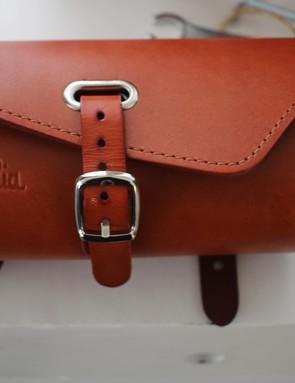 The new Sella Italia leather saddlebags