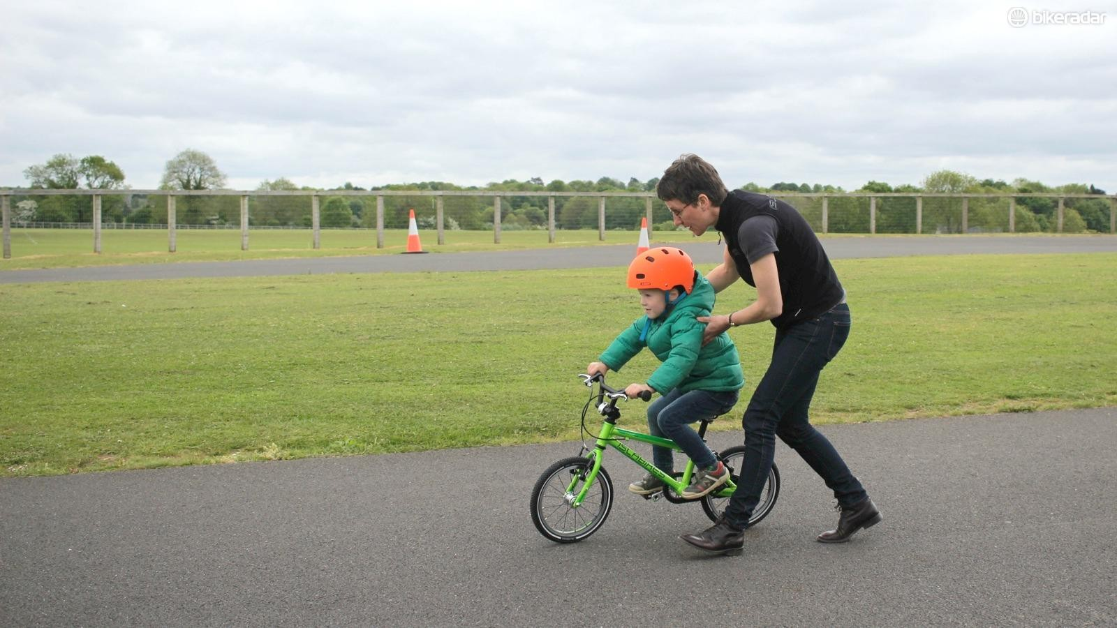 Teaching a child to cycle is a hugely exciting moment for them, and for you