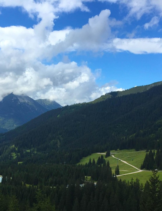 Here's what it's like to ride across the Alps from Bavaria to Italy in five days