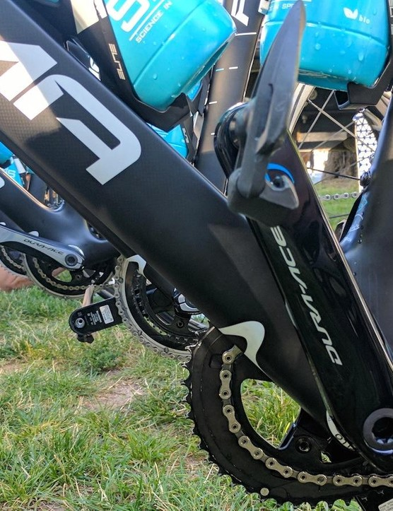 Team Sky is equipped with Stages powermeters