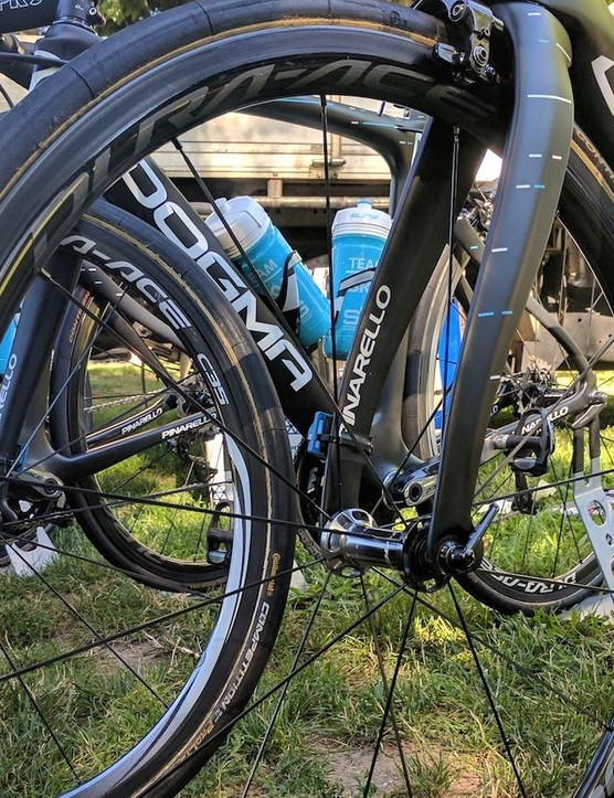 The new Shimano Dura-Ace 9100 wheels