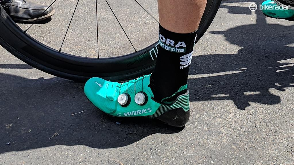 The new shoes from Specialized feature larger versions of the popular Boa dials