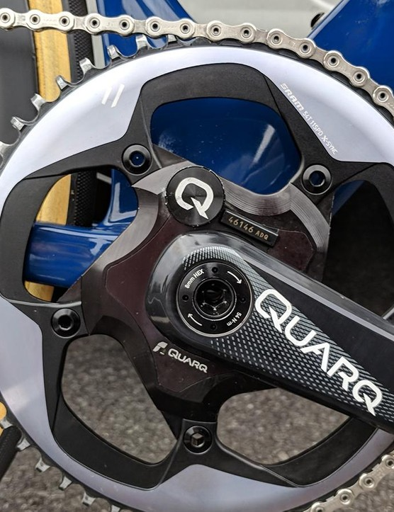 The 1X drivetrain is unique in the current professional peloton