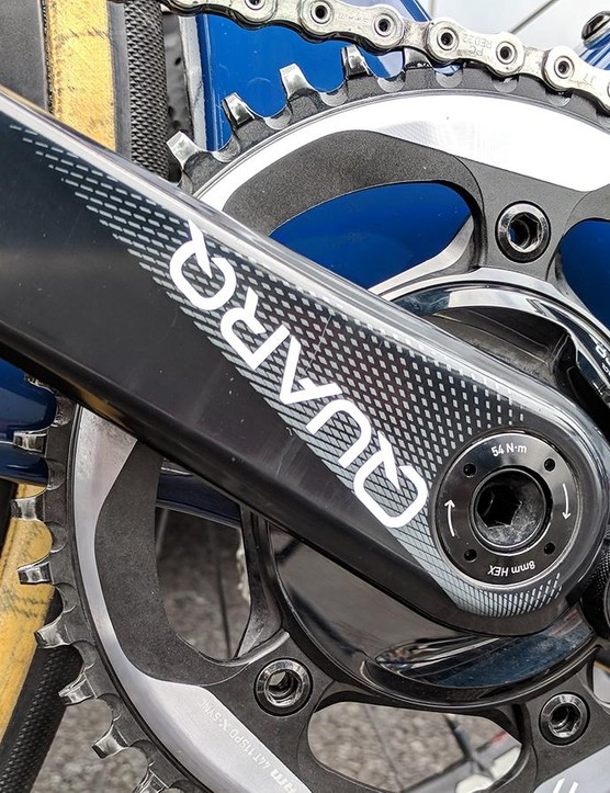 Quarq provides the team with power meters