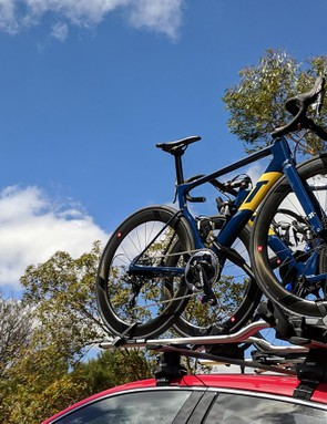 Aqua Blue Sport's 3T Strada in the Australian summer