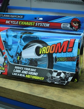 Turbospoke Exhaust will appeal to the little hooligan in your life