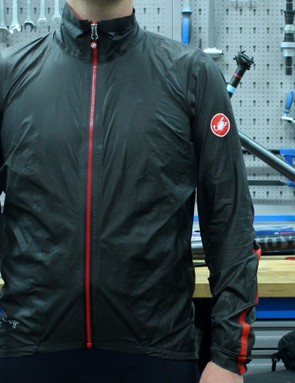 Castelli's Idro jacket is made from the new Gore-Tex Active fabric, and weighs just 123g
