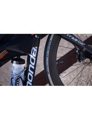Vittoria Corsa G+ tyres helped keep things comfortable and fast