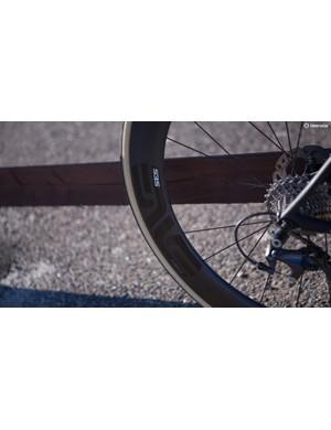 ENVE SES 5.6 Disc wheels were unsuitably trick for a long distance touring ride