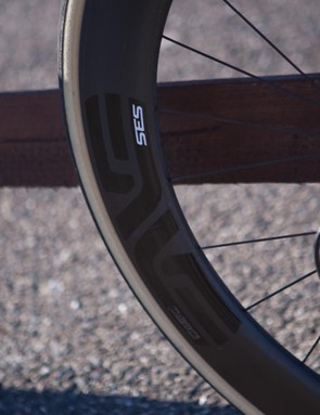 ENVE SES 5.6 Disc wheels were unsuitably trick for a long distance touring ride