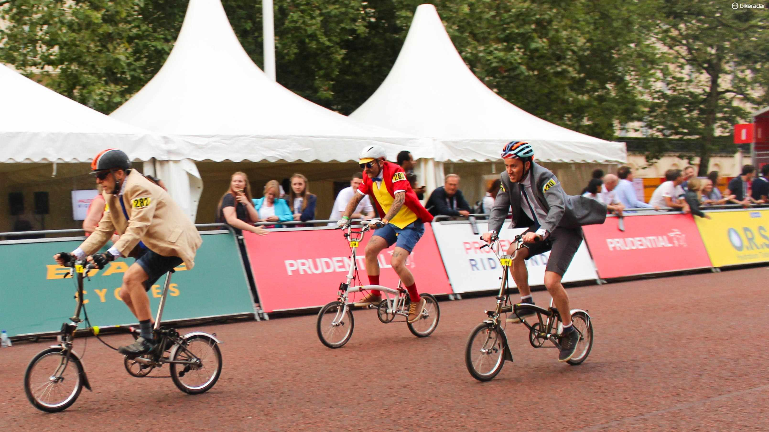 I loved racing in the Brompton World Championships Final