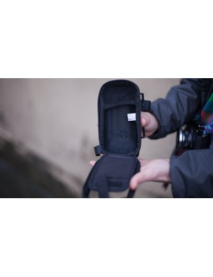 This is the third type of phone mount for bikes, a bag which attaches to your bike's handlebars or top tube, like this one from Lezyne