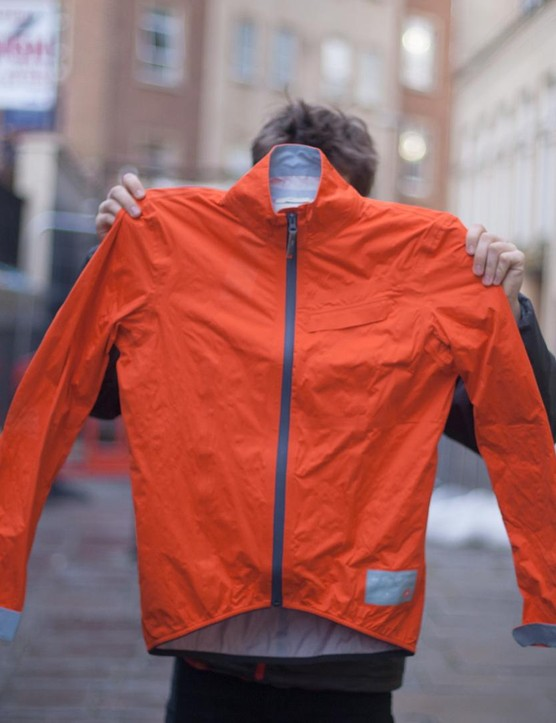 The CHPT.III rain jacket is another collaboration from David Millar and Castelli