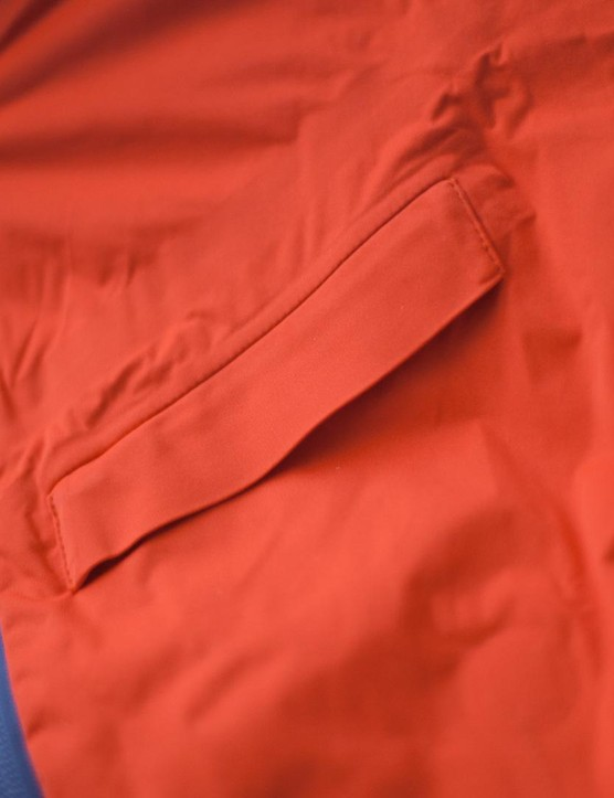 The fabric is superlight, highly breathable and completely waterproof