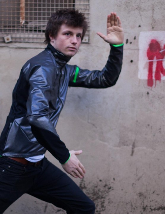 You don't have to pull silly poses in this jacket, but it's fun to do so
