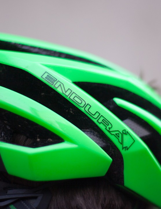 The Endura Airshell is a light, comfortable and garish helmet that's been my favourite for over a year now