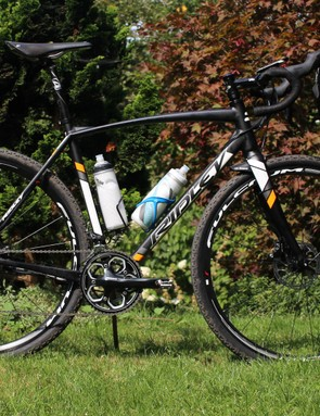 The Ridley X-Trail A20, before being loaded up with gear