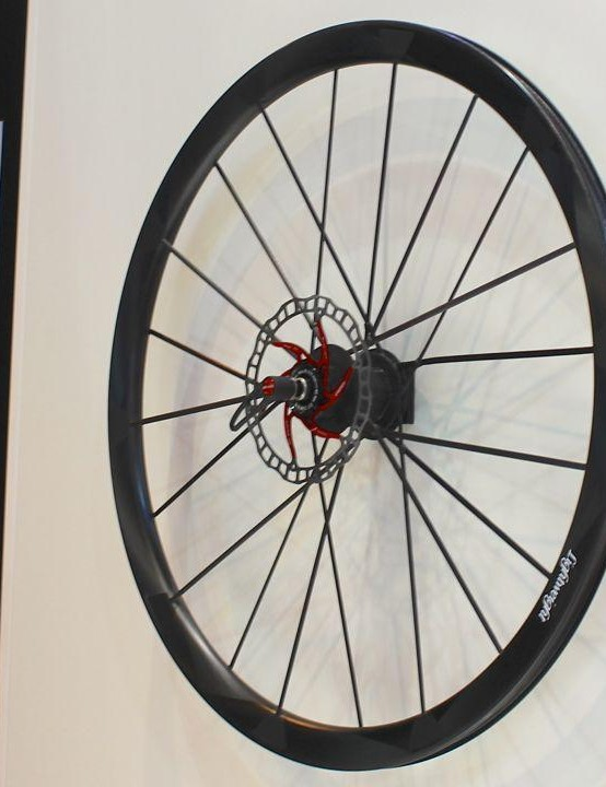 They're made by machine right here in Friedrichshafen, Germany, home of the Eurobike trade show