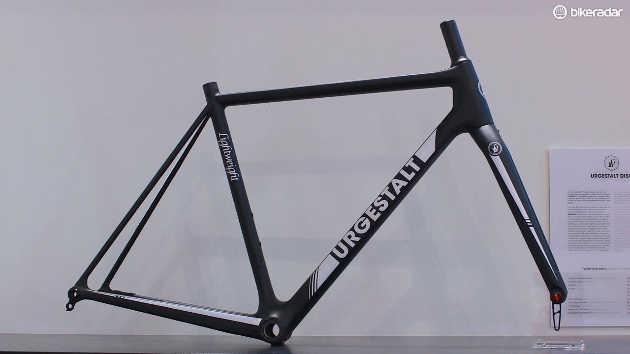The new Urgestalt carbon frameset is disc-ready