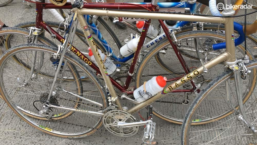 The good looking champagne-coloured Basso