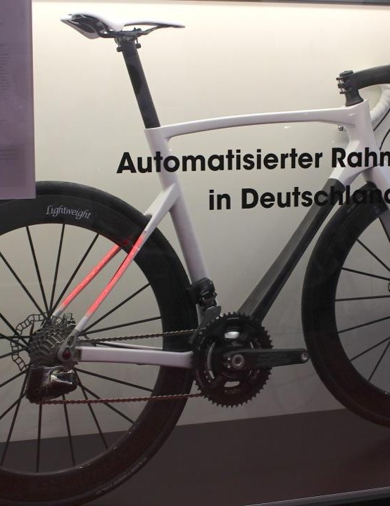 The new Ride frame is made in Germany and will go on sale in summer 2017