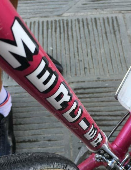 The pink Mercier was a stunner