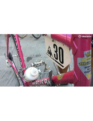 The Mercier was just like the bike used by the Miko Mercier team in 1977-1978