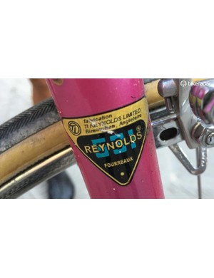 Reynold 531 tubing with a rare French decal