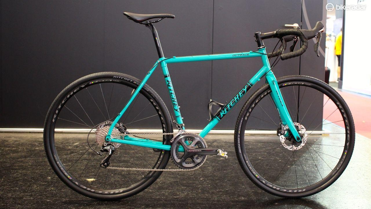 Ritchey's new Outback gravel bike is made from steel, and designed to go fast