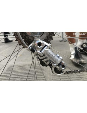 The Stelbel was fitted with Campagnolo Nuovo Record