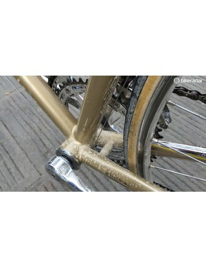 There is plenty of clearance for any Eroica mud