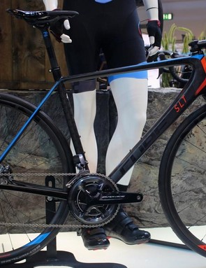 Cube's new range-topping Litening C:68 SLT Disc gets the fanciest version of Shimano's new Dura-Ace groupset: hydraulic disc brakes PLUS electronic Di2 shifting