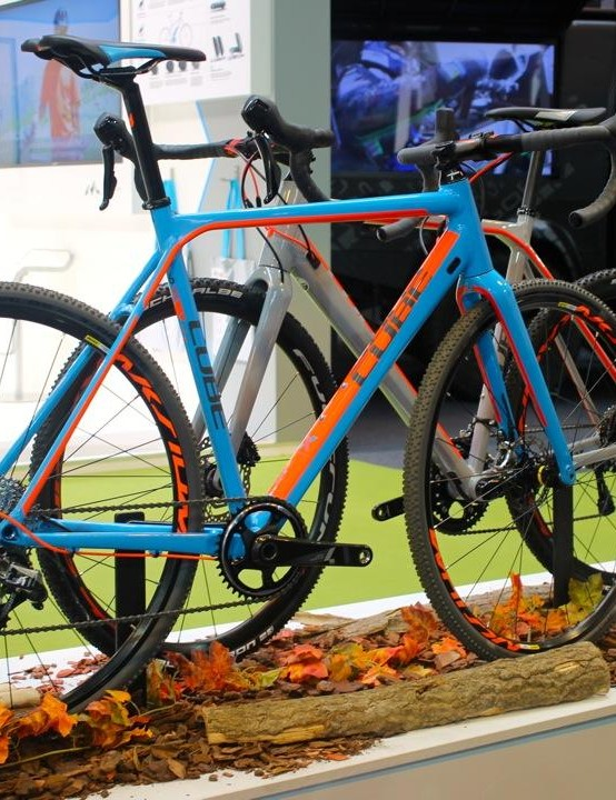 For those wanting to get muddy, the Cube Cross Race SLT looks like a cracking option
