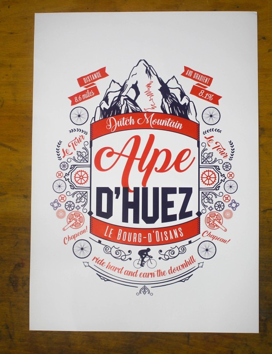 Manchester-based print shop Pedalare has some super designs