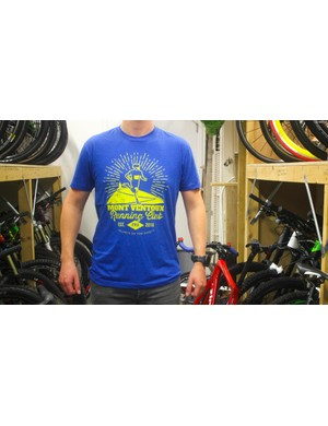 Wanna join the Mont Ventoux Running Club? You'll need this t-shirt
