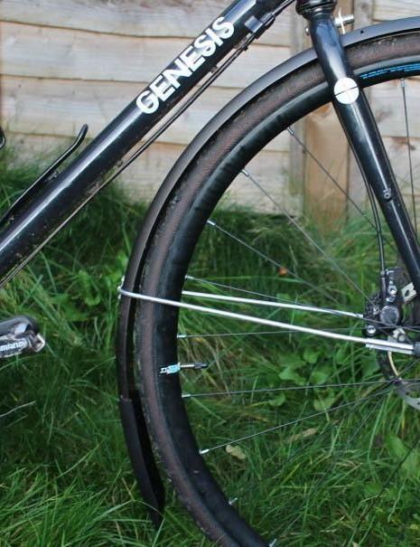 The bike, pre-puncture