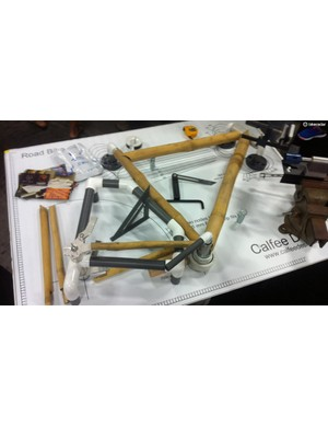 Build your own bamboo bike with Calfee's kit