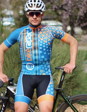 A few weeks later, and you've got your own cycling clothes