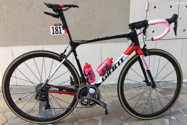 Tom Dumoulin's Giant TCR SL 0 for the Giro d'Italia