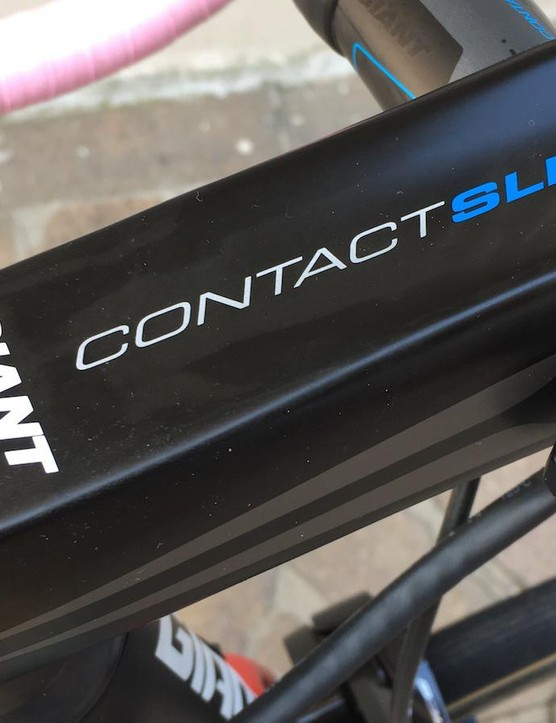 Giant's oversized carbon Contact SLR stem