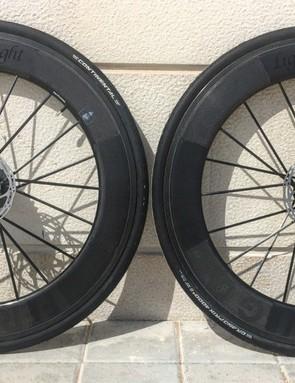 Lightweight's Fernweg disc wheels aren't officially launching for a few months yet