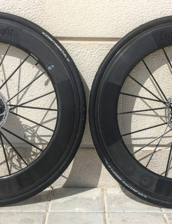 Lightweight's Fernweg disc wheels aren't officially launching for a few months yet